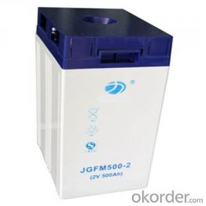 Colloid  Storage  Battery  JGFM  series 2 V 500Ah