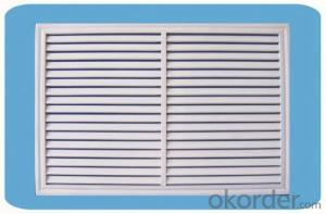 White Adjustable Compound Metal Air-Conditioning Outlet From Factory