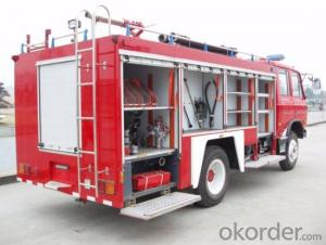 Fire Fighting Truck  HOWO 6X4 Rhd/LHD Water Tank