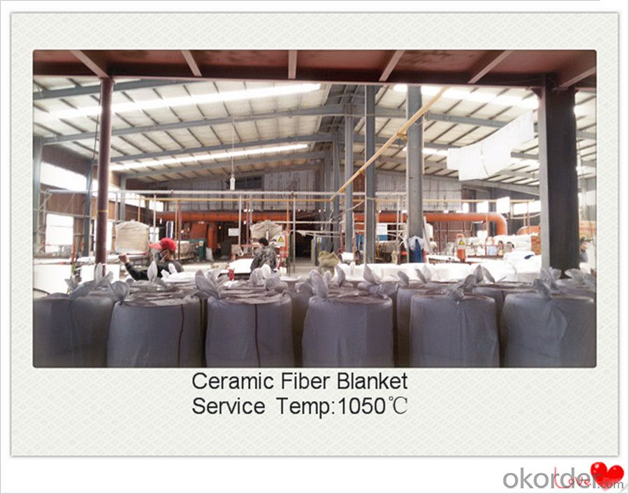 Blown Up Ceramic Fiber Blanket for Steel Furnaces Made In China