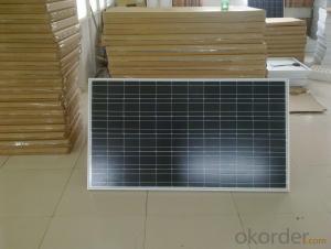 Poly 245W Solar Panel CE/IEC/TUV/UL Certificate