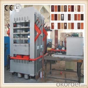 Home and Office Moulded Door Skin Press Machine