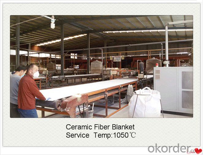 High Temperature 1600c Polycrystalline Mullite Fiber Blanket for Ceramic Tunnel Kiln Made In China