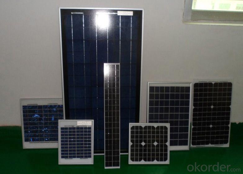55W Mono Solar Panel Solar Module with TUV Certification