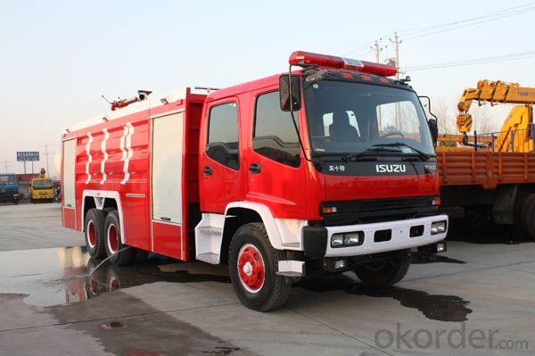 Fire Fighting Truck China's High Quality Fire Truck 4X2 Water Fire Truck HOWO