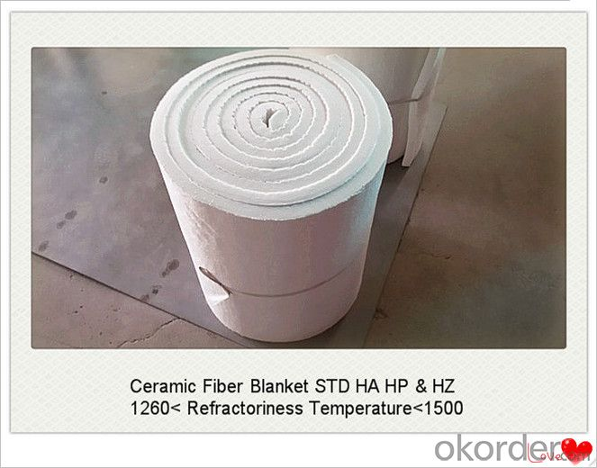 Bio-Souble Ceramic Fiber Blanket for Hot Blast Stove Made In China