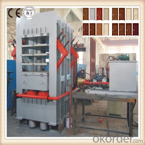 Veneer Hot Press Machine for Laminated Door