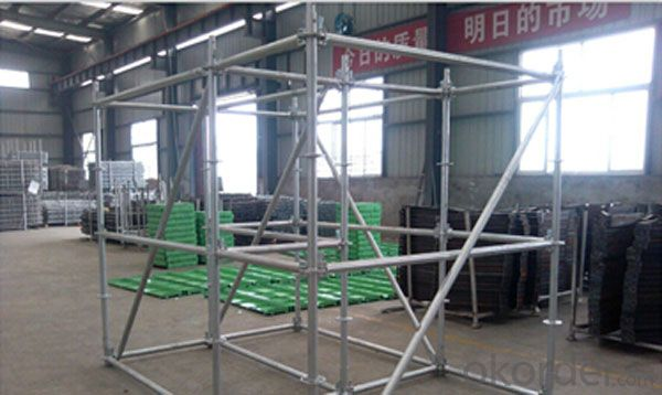 Frame Scaffolding System for Construction