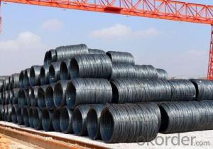Coils Steel Hot Rolled Wire Rod with Grade Q195