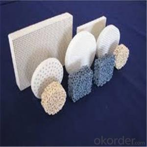 Zirconia/Alumina Ceramic Foam Filter for Iron Foundry