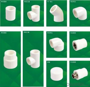 PPR All Plastic Fittings Pipe Plastic Material Elbow 45° L20-110