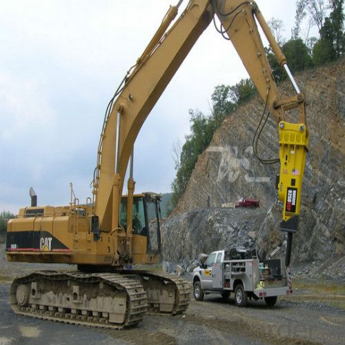 Excavator Mounted Hydraulic Breaker Hammer
