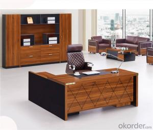 Office Desk Furniture for Manager of MDF Material