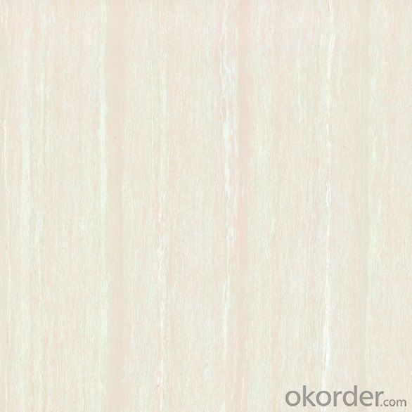 Polished Porcelain Tile Line Stone Serie White Color 26501/502/503