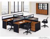Mobiliario de puesto de trabajo de oficina para personal de un solo asiento