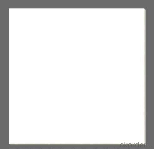 Polished Porcelain Tile The Super White Color CMAXSB1010