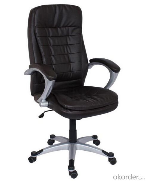 High Back Office Manager PU Leather Chair