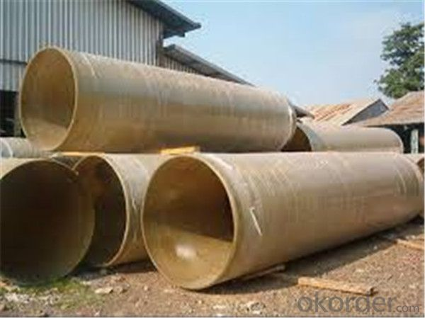 FRP Pipe (Fiber Reinforce Plastic)Pipe for Water Projects