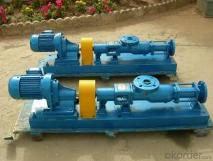 Rotary Progressive Cavity Monoblock Single Screw Pumps