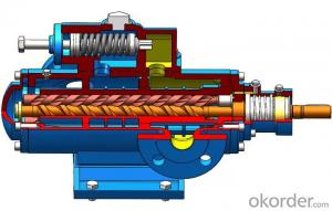XSN Single Suction Low Pressure Three Screw Pump