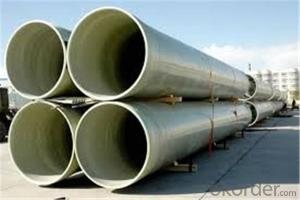 FRP Pipe (Fiber Reinforce Plastic)Pipe in Gas-onshore