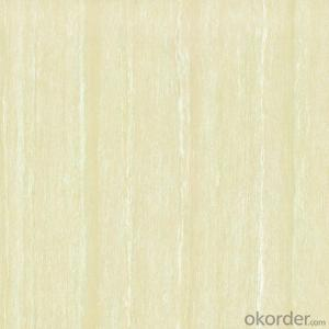Polished Porcelain Tile Line Stone Serie White Color 26501/502/503