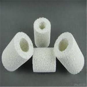 Alumina Circle  Ceramic Foam Filter for Foundry Industry