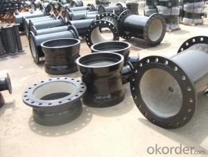 Ductile Iron Pipe Fittings All Flanged Tee High Quality  ISO2531:1998 DN80-DN500