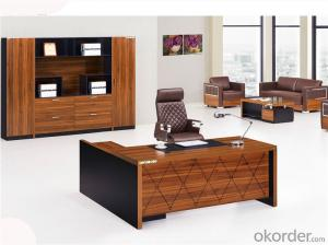 Office Desk Furniture for Manager with Classic Style