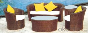 Outdoor Wicker Seating Set 4 Piece Kiawah