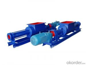 Positive Cavity Screw Pumps for Sewage Sludge and Polymer