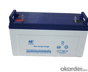 Emergency   Battery  LCR  series    12 V