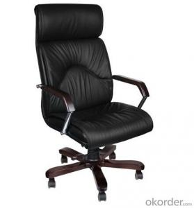 Manager Computer Chair High Back Top Leather