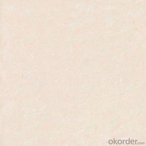 Polished Porcelain Tile Crystal Jade Serie White Color 26601