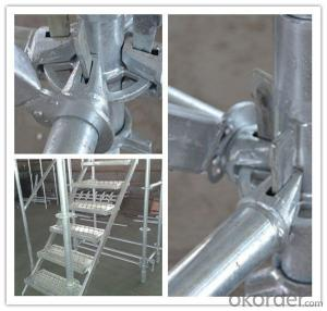 Cuplock Scaffolding Best Price Widely Used Hot Dip Galvanized Steel