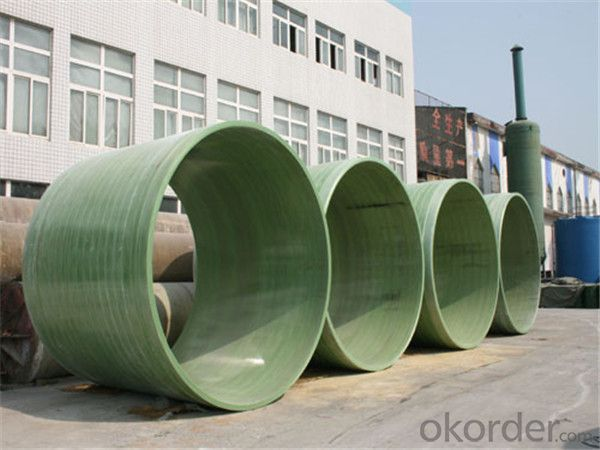 FRP Pipe Fiber Reinforce Plastic Pipe Underground Pipe