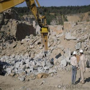Excavator Mounted Hydraulic Breaker Hammer for Hard Rock