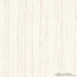 Polished Porcelain Tile The Line Stone White Color CMAXSB1004