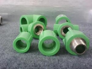PPR All Plastic Fittings Pipe Plastic Material Thread Plug