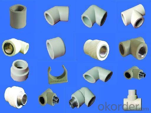 PPR All Plastic Fittings Pipe Plastic Material Long Plug 1/2