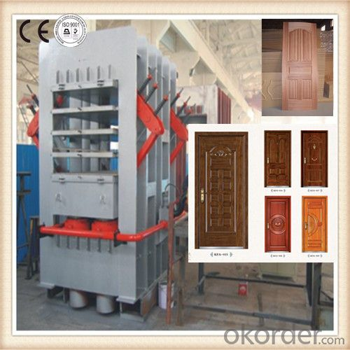CE Approved Plywood Door Hot Press Equipment