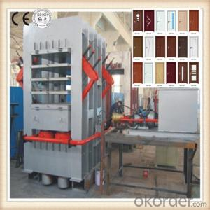 Melamine Door Face Compress Machine Made in China