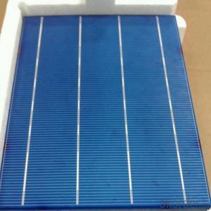 Four Bus Bar Poly Solar Cell A Grade Quality