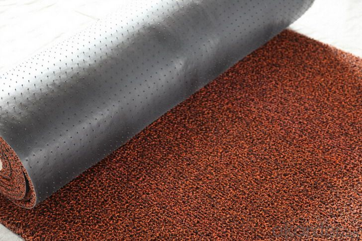 Hotel PVC Coil Mat in Rolls Commercial Used