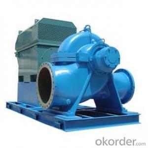 Double Suction Split Case Centrifugal Pump