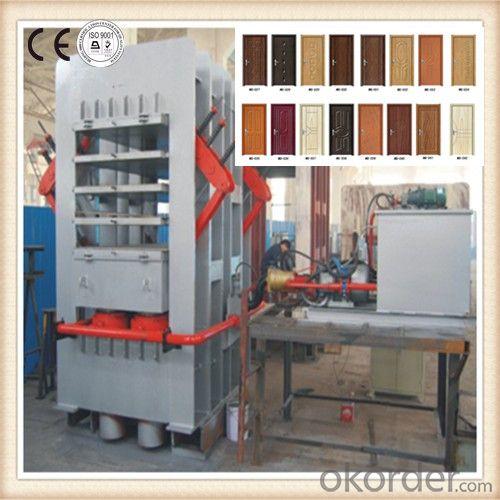 European Standard 4 Layer Door Pressing Machinery