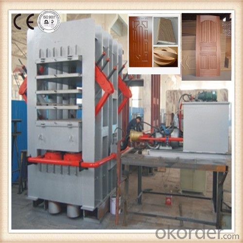 NYJ-800T to 1600T Single-layer and Multilayer Door Press Machinery