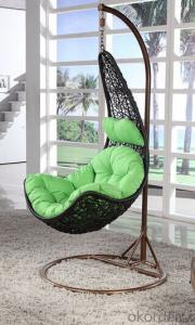 PE Rattan Hanging Chair in Outdoor Furniture