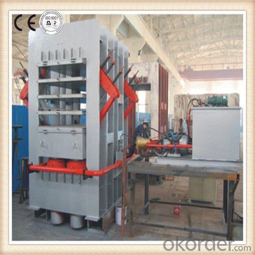 Hydraulic Kitchen Door Hot Press Machine