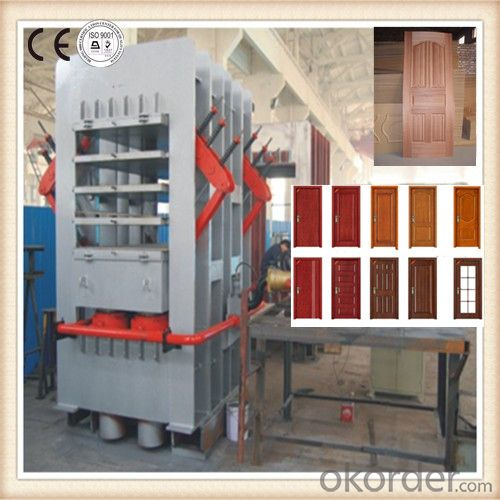 Single and Double Side Door Moulding Laminated Machine